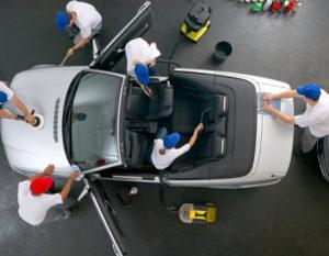 Autoaufbereitung bei Pneu Schaller